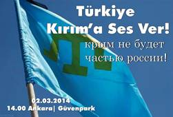 Türkiye Kırım'a Ses Ver Mitingleri !